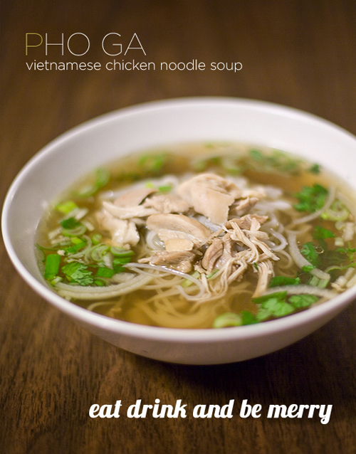 Vietnamese Chicken Soup Pho Ga