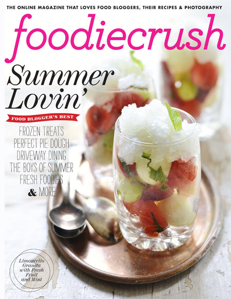 FoodieCrush Summer 2012 Cover