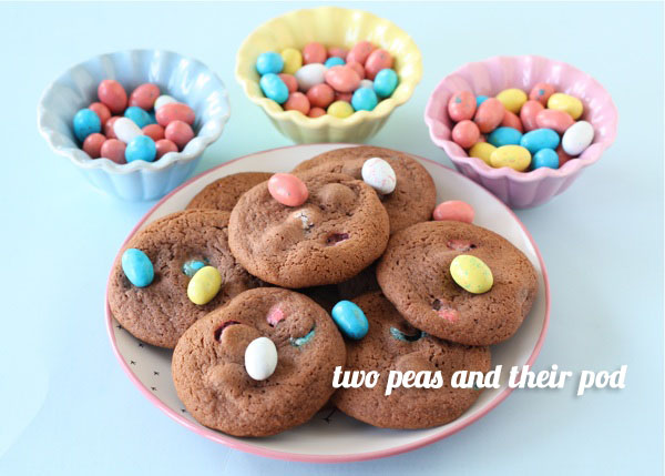 FoodieCrush Two Peas and Their Pod chocolate pudding cookie recipe