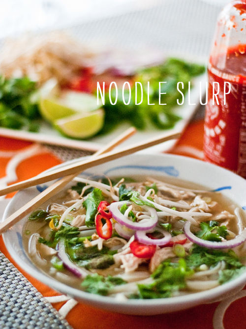 Craving > Pho Ga Vietnamese Chicken Noodle Soup