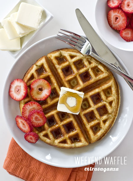 FoodieCrush Magazine Waffle