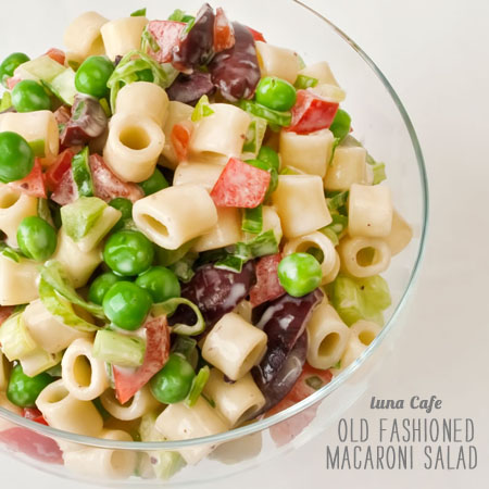 FoodieCrush Magazine Luna Cafe Macaroni Salad