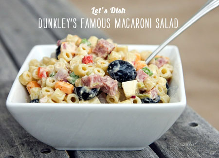 FoodieCrush Magazine Lets Dish Macaroni Salad