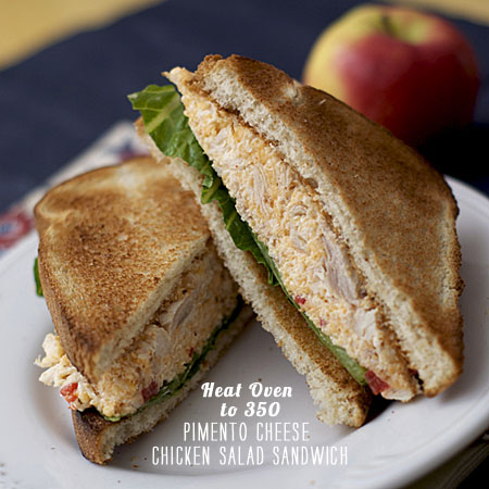 FoodieCrush Magazine Heat Oven to 350 Pimento Chicken Salad
