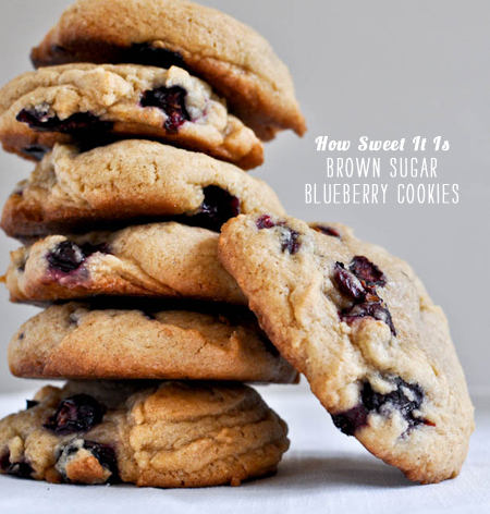 FoodieCrush Magazine How Sweet It Is Blueberry Cookies