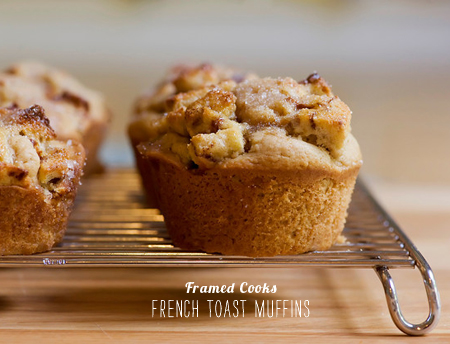 FoodieCrush Magazine Framed Cooks French Toast Muffins