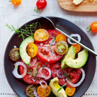 Avocado and Tomato Salad Plus 5 Fresh and Simple Avocado Salads