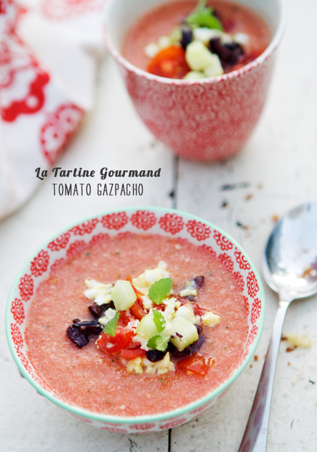 Foodie Crush Magazine La Tartine Gourmand Gazpacho