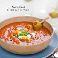 Foodie Crush Magazine Bloody Mary Gazpacho