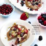 FOodieCrush Magazine Family Fresh Cooking Berry Goat Cheese Pizza