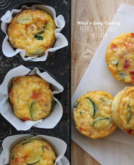 FoodieCrush Magazine What's Gaby Cooking Mini Frittatas
