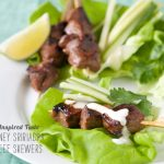 FoodieCrush Magazine Inspired Tastes Sririacha Beef Skewers