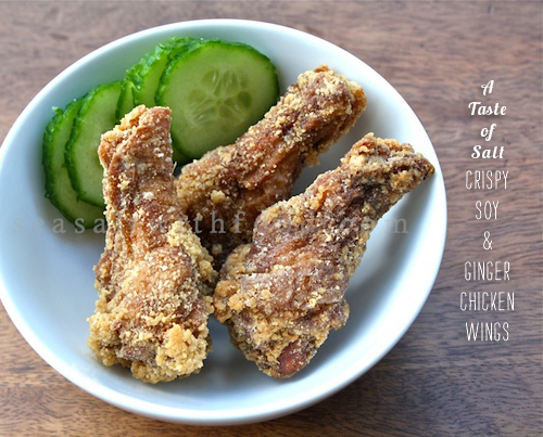 FoodieCrush Magazine Sea Salt With Food Chicken Wings