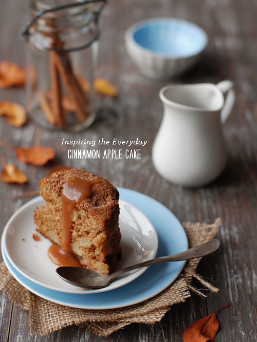 FoodieCrush Inspiring the Day Apple Cake