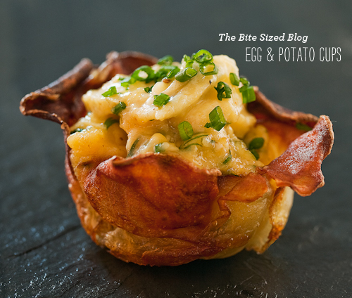 FoodieCrush The Bite Sized Blog Egg Potato Bite