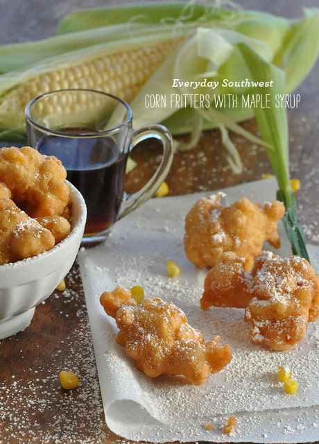 FoodieCrush Magazine Everyday Southwest Corn Fritters