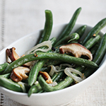Thumbnail image for Green Beans and Shiitake Mushrooms Plus 5 Simple Thanksgiving Sides
