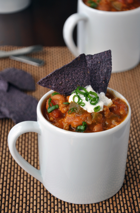 FoodieCrush Just a Taste Pumpkin Chili