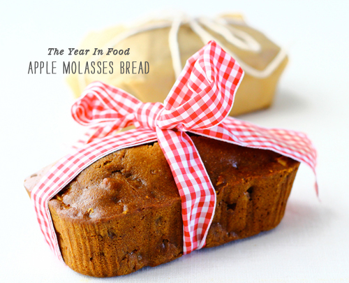 FoodieCrush The Year In Food Apple Molasses Bread