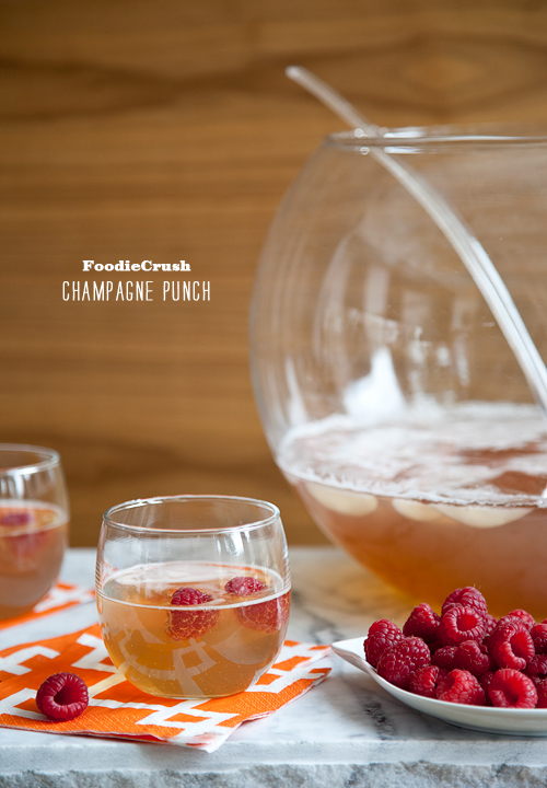FoodieCrush Magazine Champagne Punch