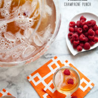 Bubbly Champagne Punch