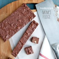 The Best Homemade Fudge | foodiecrush.com