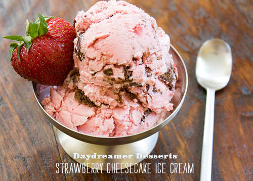 Foodie Crush Daydreamer Desserts Strawberry Cheesecake Ice Cream