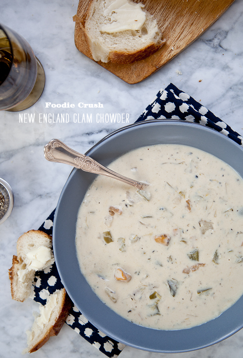 Foodie Crush Clam Chowder