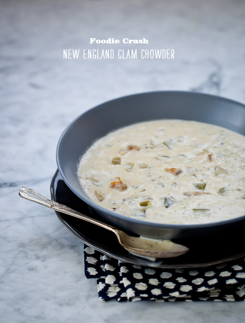Foodie Crush Market Street Grill Clam Chowder Recipe