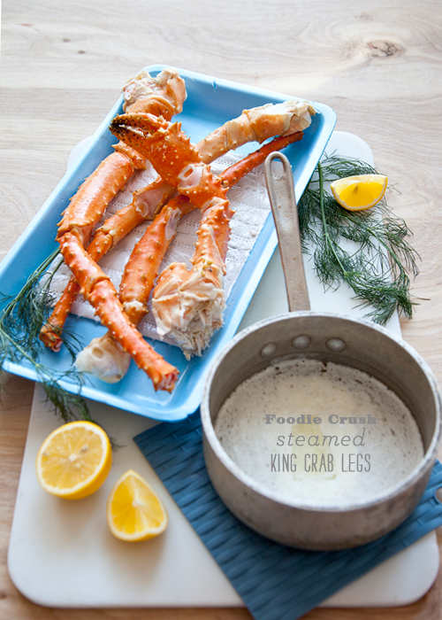 Foodie Crush Alaskan Crab Legs