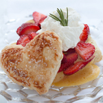 Thumbnail image for Puff Pastry with Sabayon Custard and Strawberries