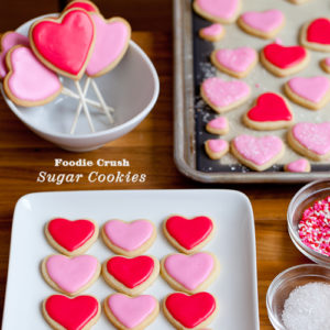 Sweet on Sugar Cookies Plus Valentine's Day Hearts