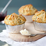 Lemon Almond Poppyseed Muffin Mania