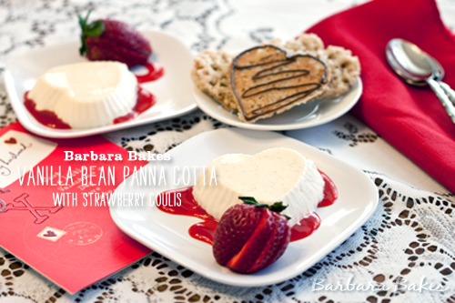 Foodie Crush Barbara Bakes Vanilla Pana Cotta