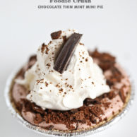 Foodie Crush Chocolate Pie