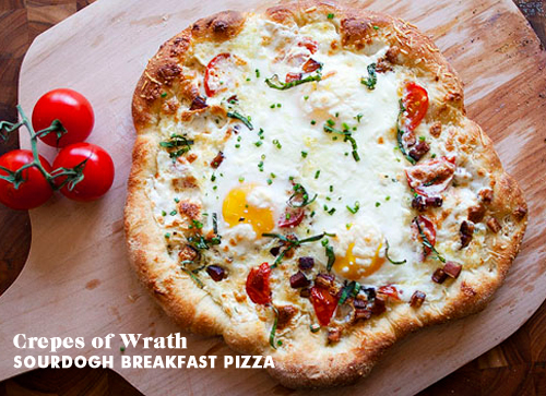 Foodie Crush Crepes of Wrath Breakfast Pizza