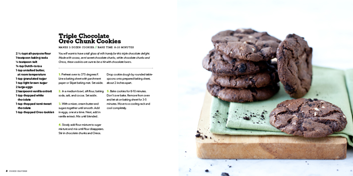 Foodie Crush Cookie Cravings Triple Chocolate Oreo Chunk Cookies