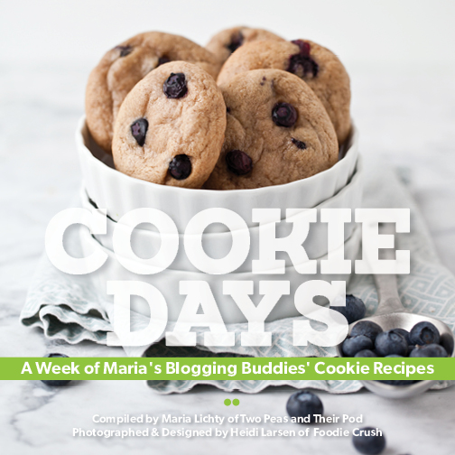 Cookie Days Bonus PDF e-Cookbook Foodie Crush Two Peas and Their Pod