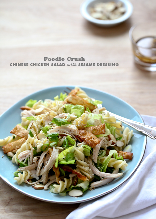 Post image for Craving > Chinese Chicken Salad with Sesame Dressing