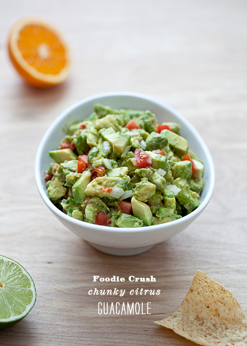 Post image for Chunky Citrus Guacamole