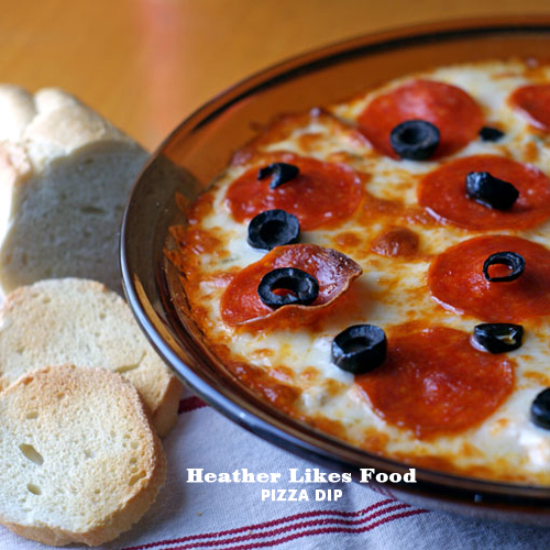 Foodie Crush Pizza Dip