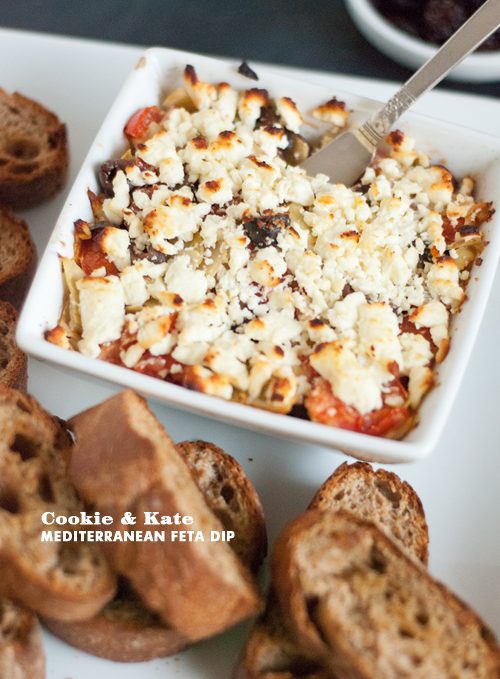 Foodie Crush Cookie and Kate Tomato Feta Bake