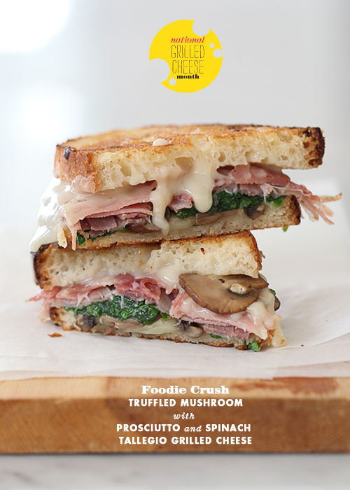 Post image for Friday Faves plus Truffled Mushroom with Prosciutto and Tallegio Grilled Cheese