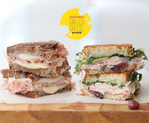 Foodie Crush Grilled Cheese