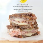 Craving &gt; Honey Smoked Ham with Fig Spread Grilled Cheese