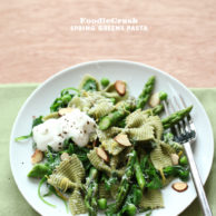 Foodie Crush Green Pasta