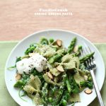 Craving &gt; Spring Greens Asparagus and Ricotta Pasta