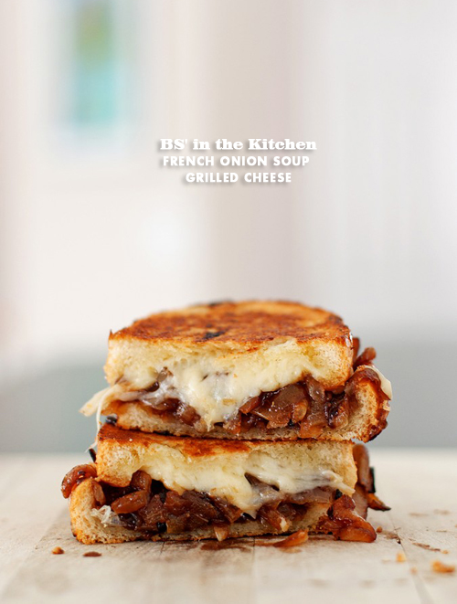 the spoon and no need for dunking > French Onion Soup Grilled Cheese ...
