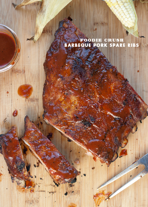 Foodie Crush BBQ RIbs