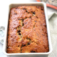 Chocolate Chip Banana Bread Plus Sweet Banana Recipe Roundup